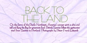 Agritourism in the Pacific Northwest (PDF)
